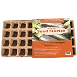Plantation Products Llc FT36HFB 36 Peat Pots Clear Dome Fiber Seed Start Tray (Discontinued by Manufacturer)