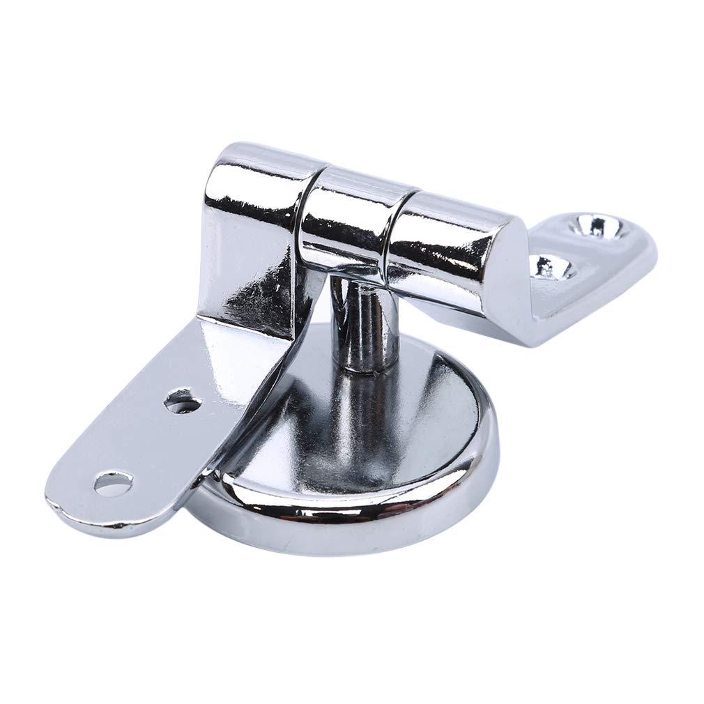 Yetsier Charni/ères De Si/ège De Toilette en Alliage De Zinc Fixations De Remplacement pour Si/ège De Toilette en Haut Accessoires De Toilette De Salle De Bain