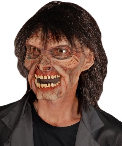 Zagone Mr. Living Dead Mask, Male Zombie with Wig