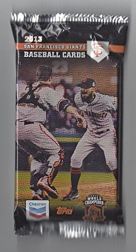 - 2013 Topps Chevron Gas - SF Giants Team Set of 32 Cards - Factory Sealed