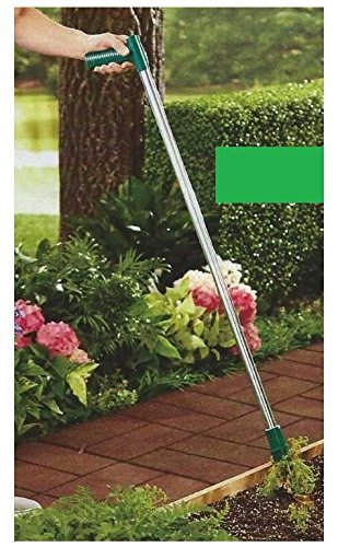 Trenton Gifts Easy Weed Grabber | Long Handled | Easily Remove Weeds Down To The Root Without Kneeling, Bending or Digging