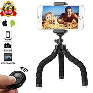 Vaysons - IPhone Tripod, Bluetooth Wireless Remote Control, Phone tripod with remote, Tripod for Android & iOS, iPhone tripod holder, Phone stand holder, Tripod for camera, Quality-Price Relationships
