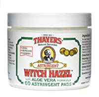 Thayers - Witch Hazel Astringent Pads Original with Aloe Vera