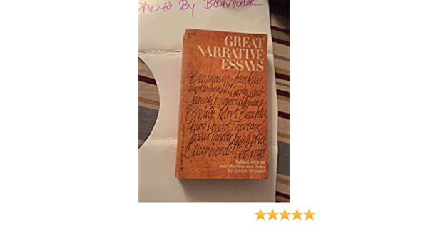 great narrative essays mersand joseph com books