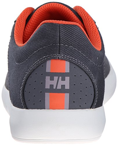 Helly Hansen Bowline, Zapatillas de Deporte Exterior para Hombre Rojo / Negro (964 Charcoal / Ebony / Mid Gre)