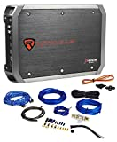 New Rockville RXA-T1 1500W Peak/750w RMS 2 Channel Car Stereo Amplifier+Amp Kit