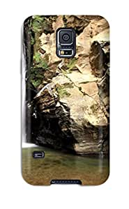 New Snap-on Lisa E Murphy Skin Case Cover Compatible With Galaxy S5- Waterfall