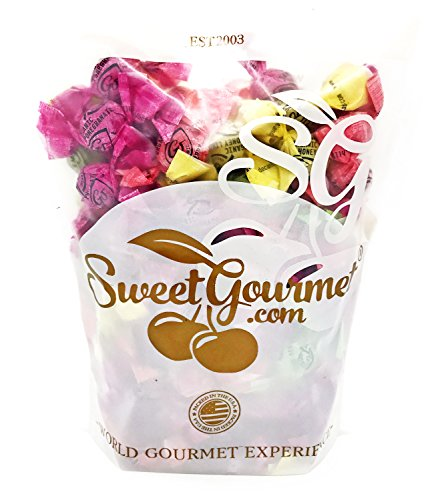 GoOrganic Assorted Organic Hard Candies Bulk (Honey-Lemon, Pomegranate, Cherry, Green Apple) (1Lb) (Bulk Corn Syrup)