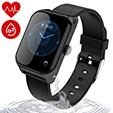 wonlex Fitness Tracker IP67 Waterproof for Swimming, Smart Watch with Blood Pressure, Sleep, Calorie and Heart Rate Monitor, Men and Women Activity Tracker for Android & iOS