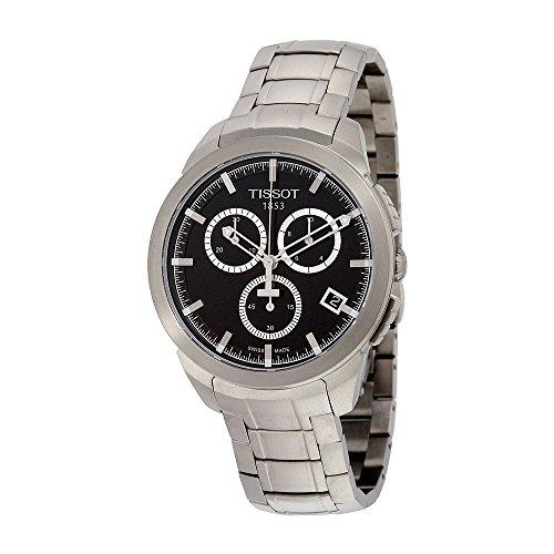 Men's T0694174405100 Analog Display Swiss Quartz Silver Watch