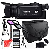 Canon XA25 + Camcorder case, Tripod, 3 Piece Filter kit and lens Cleaning Pen + Two 16GB SDHC Class 10 Memory CardsTable Top tripod, USB Sd Card Reader, LCD Screen Protector and Lens Cleaning Kit