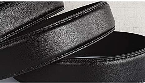 H-M-STUDIO MenS Belt Double Sided Cortex Does Not Take The Lead In Automatic Business Without Buttons.