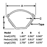 Large Corner Duct Cable Raceway (1250 Series) - 5