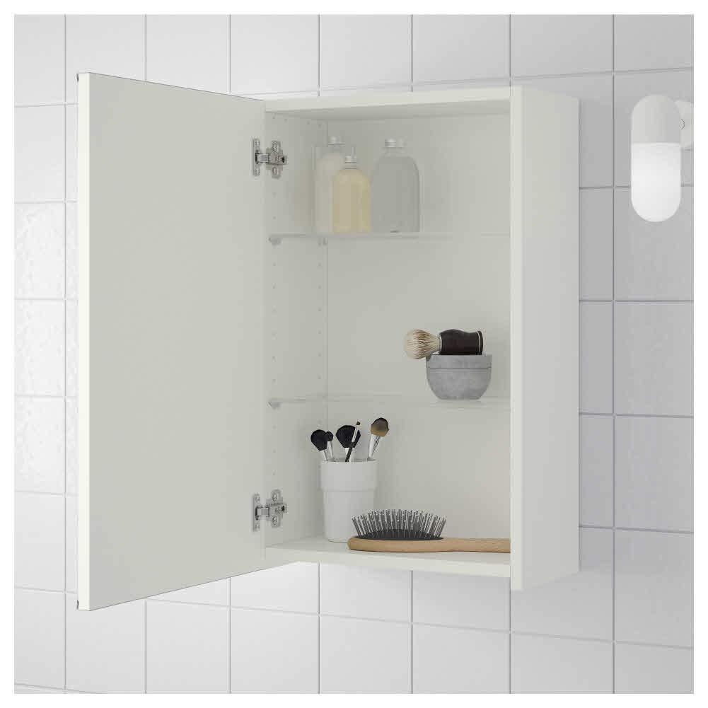 Badezimmermöbel Schränke Weiß 802.051.68 IKEA ASIA LILLANGEN ...