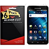 Klear Cut [6 Pack] Screen Protector for Samsung Galaxy Player 5.0 - Lifetime Replacement Warranty - Anti-Bubble & Anti-Fingerprint High Definition (HD) Clear Premium PET Cover - Retail Packaging