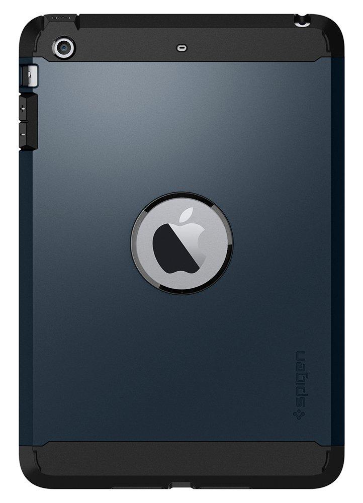 competitive price edf17 c8ebf Spigen Tough Armor Works with iPad Mini 3 Case, iPad Mini 2 Case, iPad Mini  Case - Metal Slate