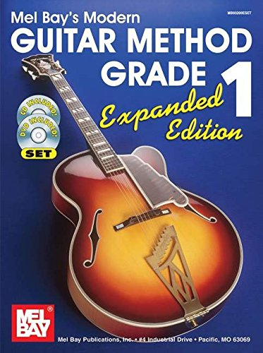 Mel Bay's Modern Guitar Method, Grade 1, Expanded Edition (Book, CD & ()