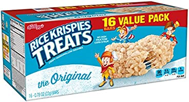Kellogg's Rice Krispies Treats, The Original Snack Bars Value Pack, 16 Count Box