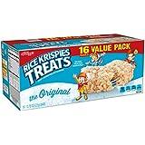 Rice Krispies Kellogg's Treats, Crispy Marshmallow Squares, Original, Value Pack, 0.78 oz Bars(16 Count)