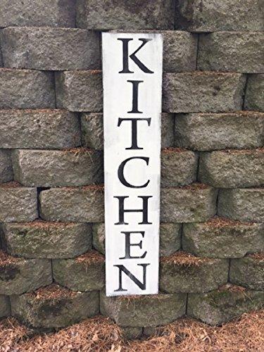Amazoncom Wood Decor Kitchen Sign Kitchen Wooden Sign