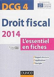 Droit fiscal - DCG 4 - 2014 - 6e éd. - L'essentiel en fiches
