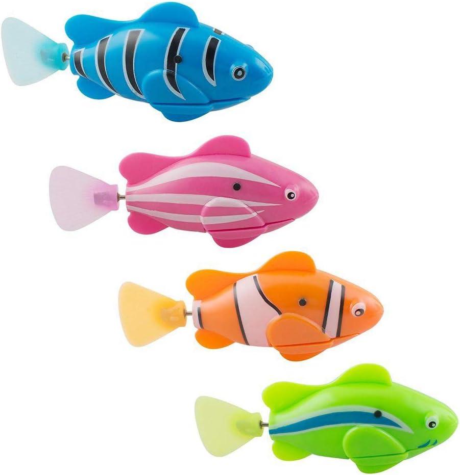 Fische im Ozean schwimmen Kein Verblassen Hai Tischdecke