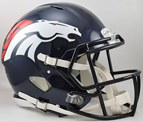 NFL Denver Broncos Speed Authentic Football Helmet