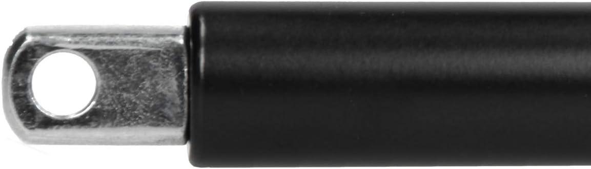 ECD Germany 2x GF141 Molla a Gas Pistone Lunghezza Totale 750 mm Ammortizzatore 1500 N Sollevamento Aiuto per Rimorchio Cavalli