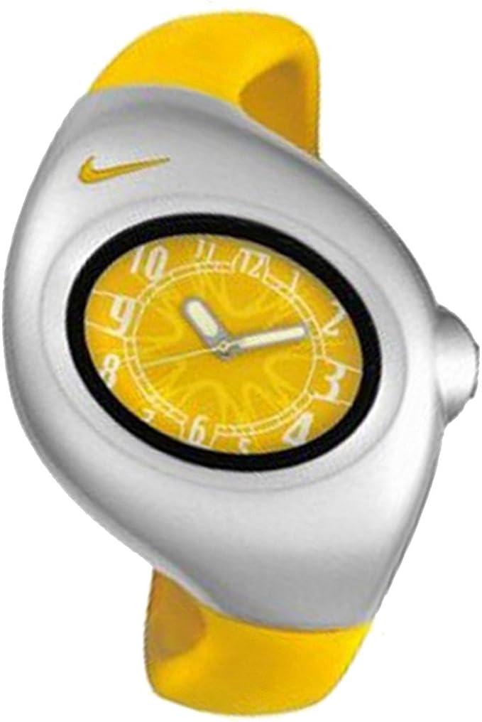 volatilidad Melbourne Psiquiatría  NIKE WR0033-707 - Reloj Nike Triax Junior Analógico Caucho - Mujer/Cadete -  Color Amarillo: Amazon.es: Relojes
