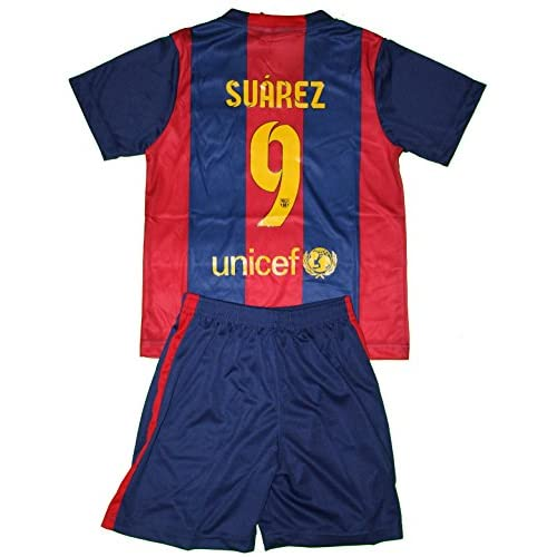 hot sale 2017 2014 2015 Luis Suarez 9 Home Barcelona Fc Football Soccer Kids  Jersey be1df9025f4e1