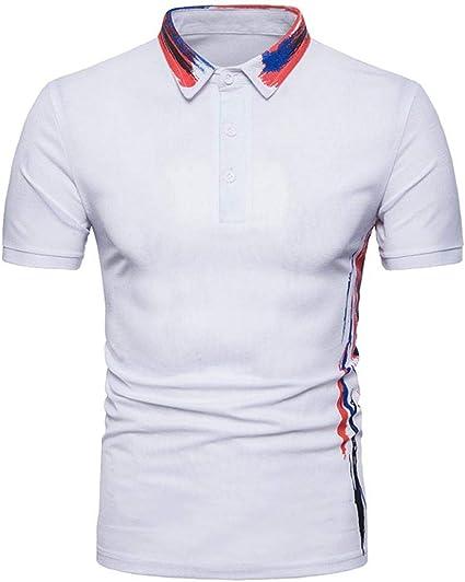 Fuxitoggo Nuevo diseño para Hombres Camiseta Estampado Verano ...