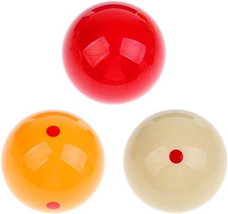 blesiya bolas de billar carambola-61.5 mm: Amazon.es: Deportes y aire libre