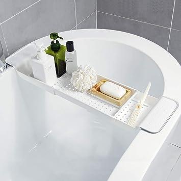LwBathtub tray Drenaje telescópico para bañera, baño, bañera ...