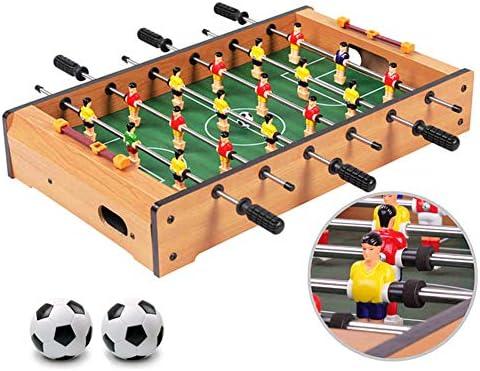 BXWQPP Futbolín Juego de Mesa de Madera Baby Foot Infantil para ...