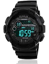 Mens Sport Digital Waterproof Watch Military LED...