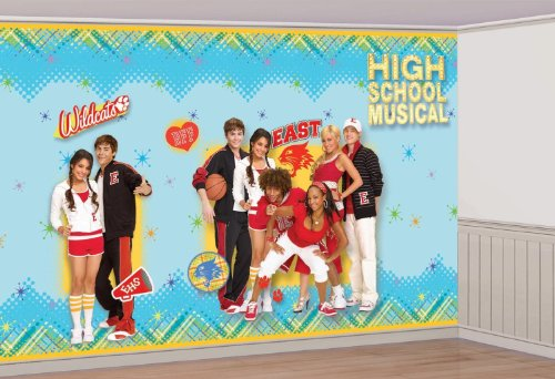 [8ft High School Musical Giant Decorating Set Party Accessory] (Highschool Halloween Costumes)