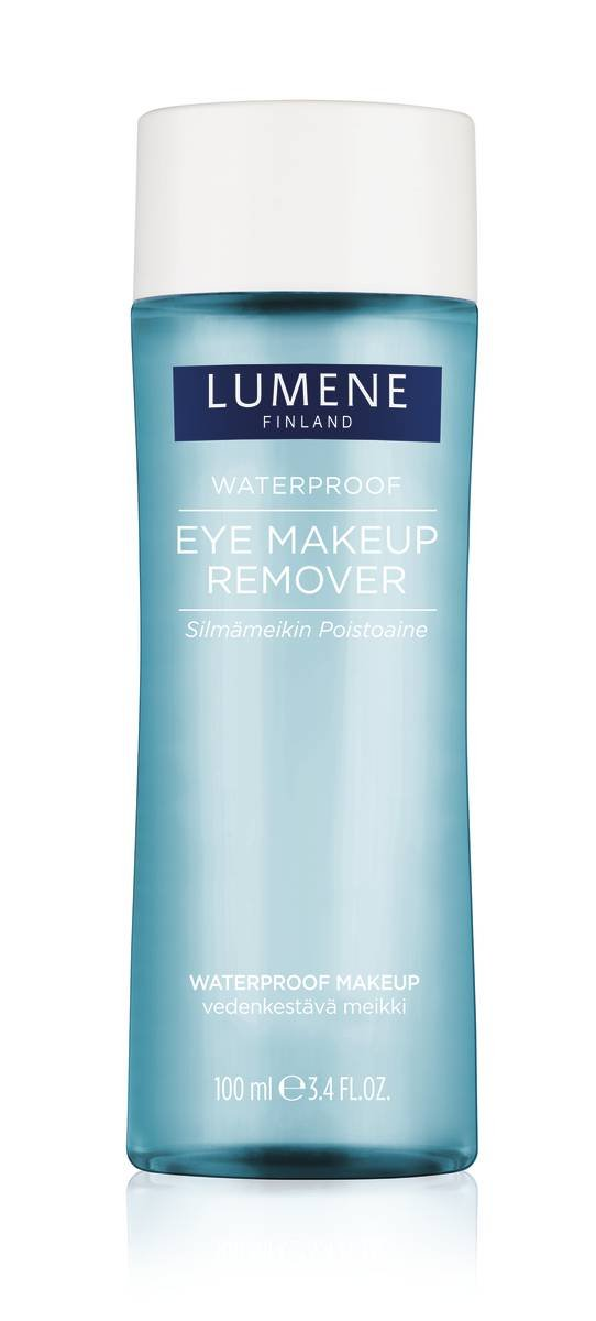 Lumene Waterproof Eye Makeup Remover, 3.4 Fluid Ounce