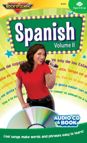 Spanish Vol. 2 - Audio CD and Book by Rock 'N Learn
