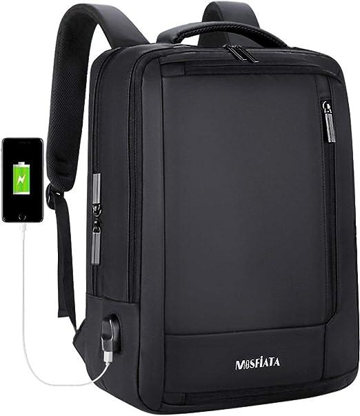 Amazon.com: MOSFiATA Mochila para portátil de 15,6 pulgadas ...