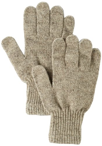 Fox River Men's Mid Weight Ragg Glove, Brown Tweed,