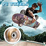 Tanzfrosch 8 Pack Roller Skate Wheels with Bearings