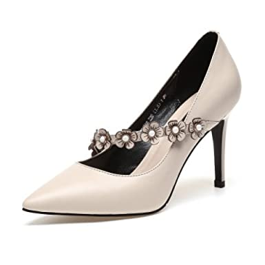 Frauen Spitz Pailletten High Heels Stiletto Schuhe Hochzeit Abendgesellschaft Prom Dress Pumps Court Schuhe