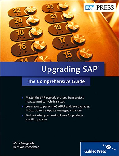 Read Online Upgrading SAP: The Comprehensive Guide ebook