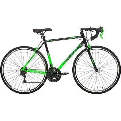 Amazon.com : 700c Men\'s Kent RoadTech Road Bike, Green/Black ...