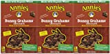 Annie's Homegrown Bunny Grahams - Chocolate - 7.5 oz - 3 pk