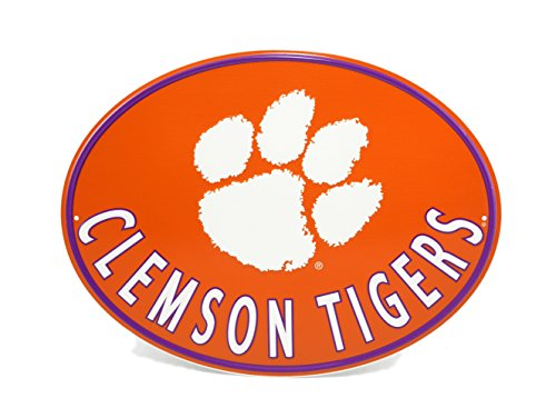 - Hanna's Handiworks Clemson Tigers Metal Wall Sign