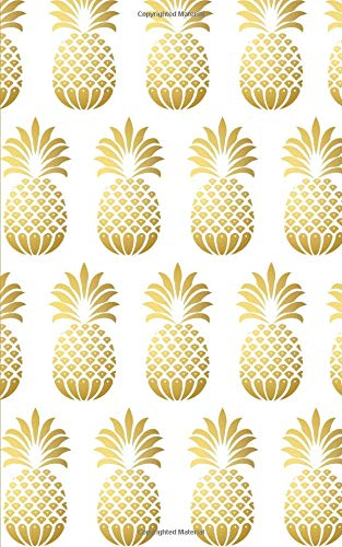 Gold Pineapples Monthly/Weekly Planner with Inspirational ...