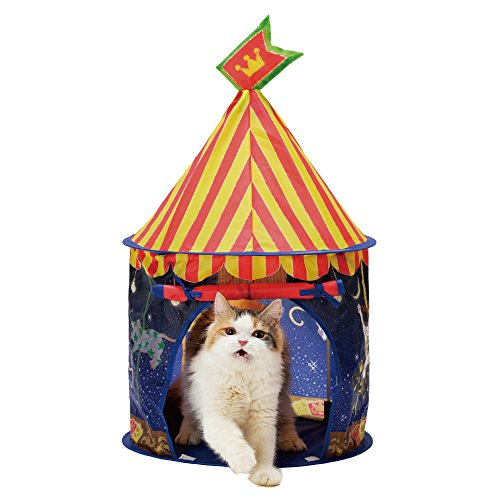 necoichi-Cat-Tent-Night-Carrousel