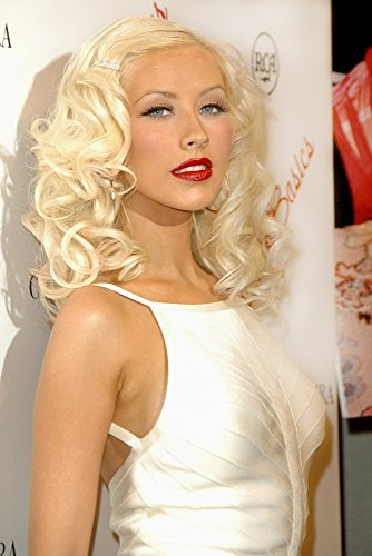 2006 8x10 Framed Photo - Christina Aguilera At Arrivals For Christina Aguilera Back To Basics Album Launch Party Marquee Nightclub New York Ny August 15 2006 Photo By George TaylorEverett Collection Photo Print (8 x 10)