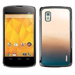 // PHONE CASE GIFT // Duro Estuche protector PC Cáscara Plástico Carcasa Funda Hard Protective Case for LG Nexus 4 E960 / Resplandor Rosa /